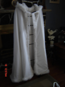 Wedding Gown with Train -  Cape