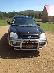 2005 Hyundai Santa Fe for parts