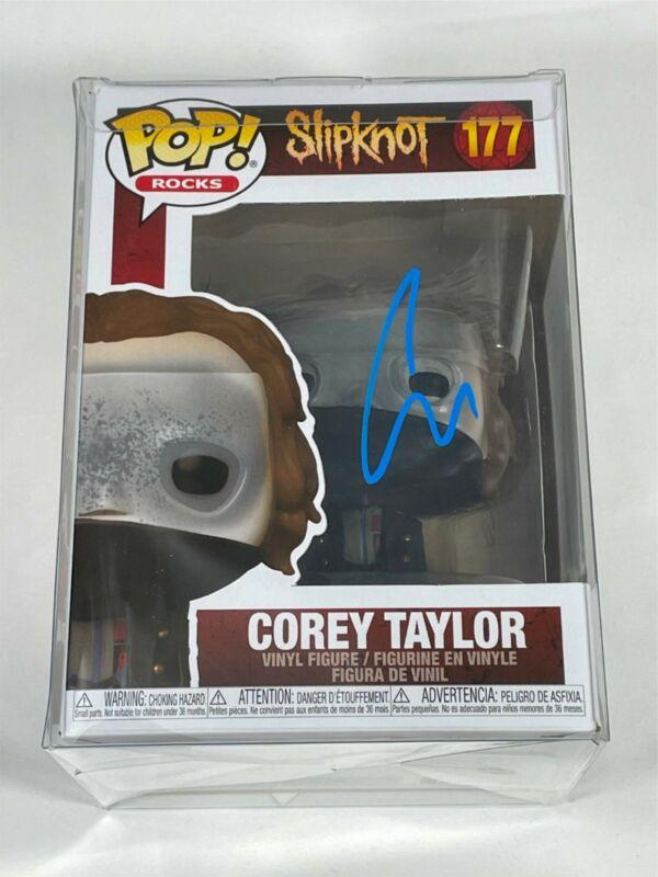 Corey Taylor Signed Funko Pop Slipknot Stone Sour Autograph Beckett BAS COA!!!
