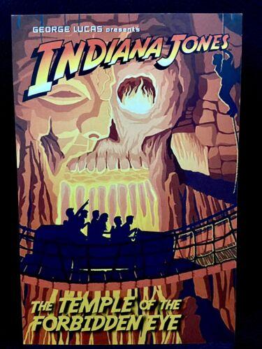 Indiana Jones™ DISNEY PARKS Temple of the Forbidden Eye CLUB 33 Collector Card