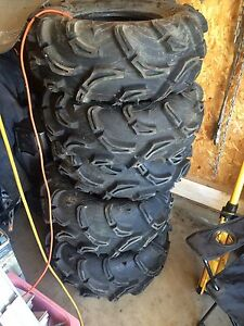 """Set of 28"""" zilla tires. PLUS AN EXTRA SPARE ( new )"""