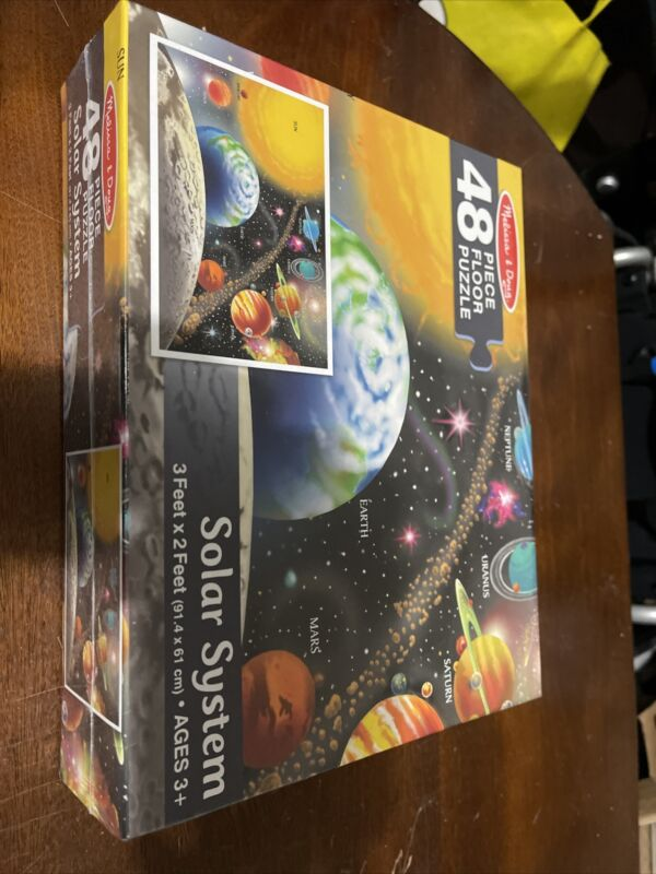 Brand New In Box Solar System Puzzle