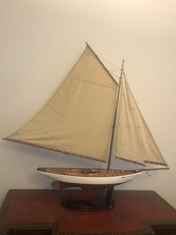 RMY 1923 Antique Model Racing Sailboat
