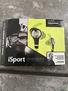 brand new monster iSport intensity headphones