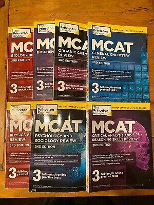 Princeton Review MCAT Subject Review Complete Box Set by Princeton