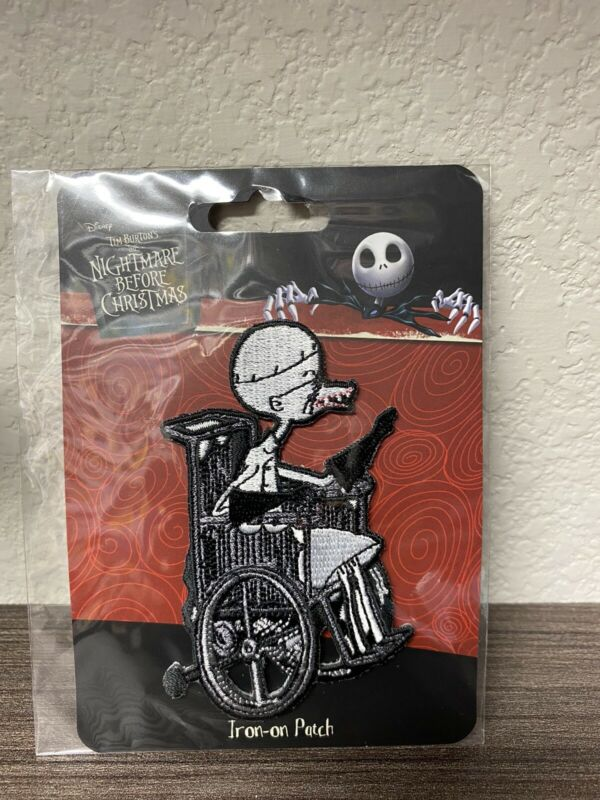 Loungefly Disney Nightmare Before Christmas Doctor Finklestein Iron On Patch
