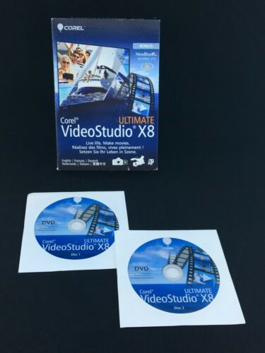 Corel videostudio x8 ultimate