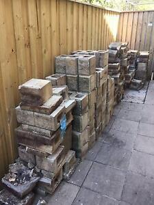 Cream Retaining wall blocks Caringbah Sutherland Area Preview