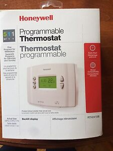 Honeywell Programable Thermostat RTH2410B