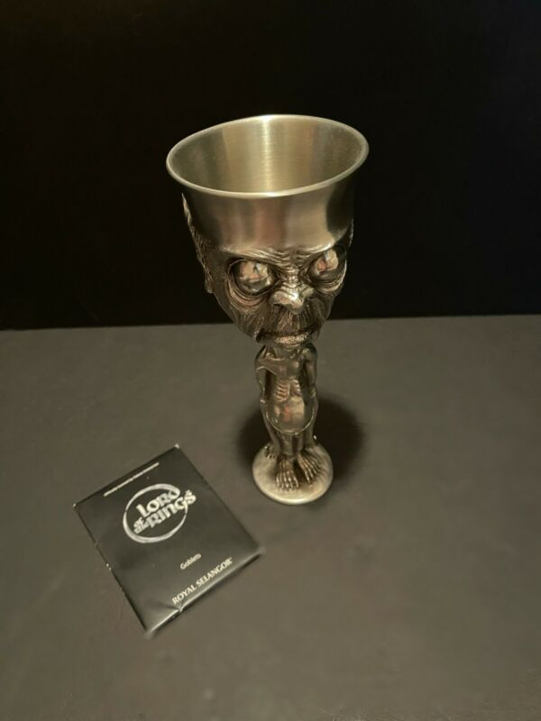 Sculptors Dream LORD OF THE RINGS Collection Pewter SMEAGOL GOLLUM Goblet