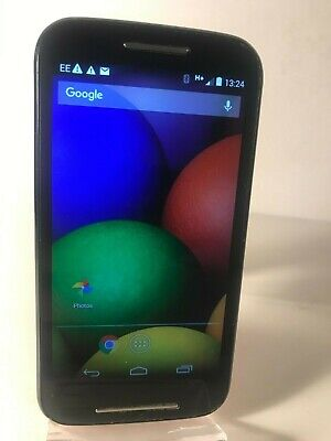 Motorola MOTO E XT1021 - 4GB - Black & Red (Unlocked) Smartphone Android Mobile