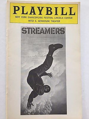 Streamers - July 1976 Playbill - Kenneth McMillan, Peter Evans, Dolph Sweet