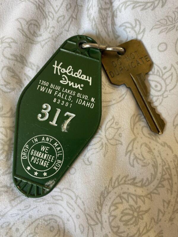 Vintage Twin Falls, Idaho Holiday Inn Hotel Motel 317 Key Green Original