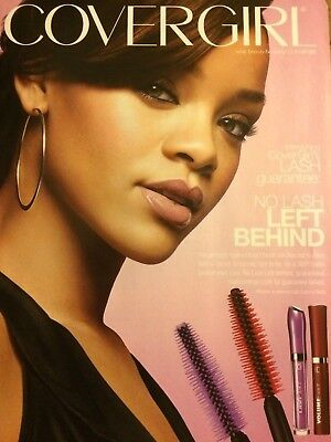 Rihanna, Covergirl Makeup Cover Girl, Full Page Print Ad