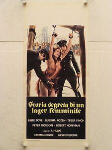 STORIA SEGRETA DI UN LAGER FEMMINILE regia K. Hung locandina orig. 1976 - Italia - L'oggetto può essere restituito - Italia