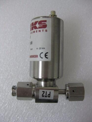 MKS Instruments 852B51PCJ4GA Baratron Pressure Transducer, 50 Psi, Used