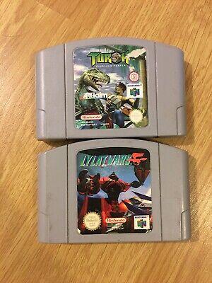 Turok Dinosaur Hunter Lylat Wars N64 Nintendo 64 PAL Bundle Cart Only