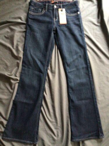 Levi Strauss & Co. Girl's Juniors Boot Cut Denim Blue Jeans 14 Regular NWT