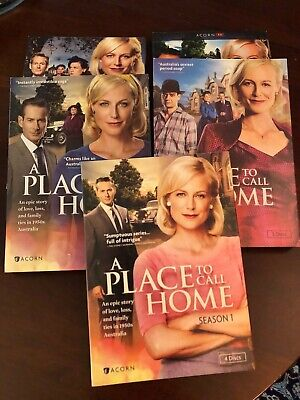 A Place to Call Home DVD set Seasons 1,2,3,4,5 (Acorn) Australia Period Drama