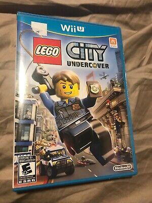 LEGO City Undercover (Nintendo Wii U, 2013) *BRAND NEW*