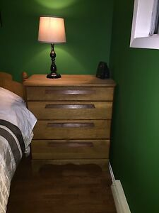 Dresser and Queen Frame