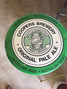 Coopers Ale bar table and two stools East Kurrajong Hawkesbury Area Preview
