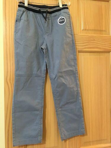 New Oshkosh Boys Pull on Pants Blue Pants Stretch Size 4,7,8,10,12,14