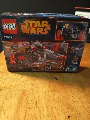 Lego Star Wars Death Star Troopers Battle Pack 75034, Brand New!
