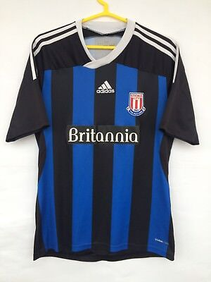 STOKE CITY 2011 2012 ADIDAS AWAY FOOTBALL SOCCER SHIRT JERSEY CAMISETA MAGILA   image