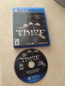 Ps4 game Thief, excellent condition