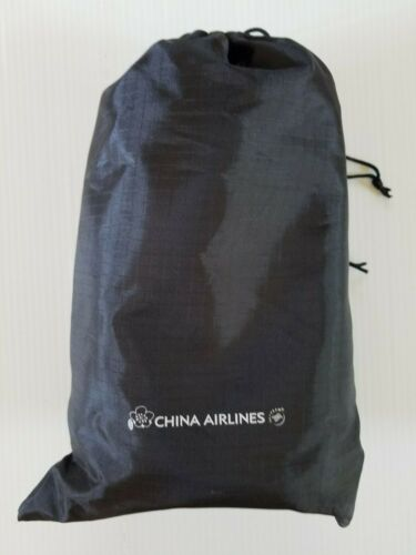North Face China Airlines Business Class Black Color Amenity Bag