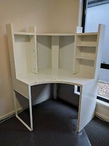 IKEA MICKE Corner workstation, white Sippy Downs Maroochydore Area Preview