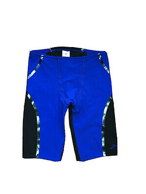 Men's SPEEDO LZR Fit Jammer Shorts Size Small Blue