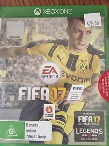 Xbox 1 Fifa17 game Fitzgibbon Brisbane North East Preview