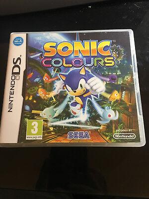 Jeu vidéo SONIC COLOURS Nintendo DS compatible 3DS