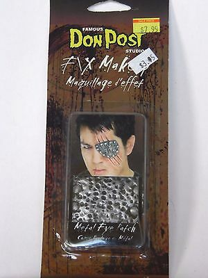 FX Metal Eye Patch Theatrical Stage Costume Halloween Party Accessory Don Post](Post Halloween Party)