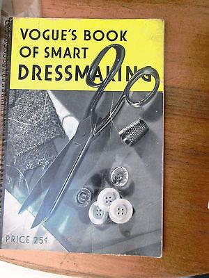 VOGUE'S Book of Smart Dressmaking 1930's Vintage Manual