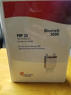 Beckman Coulter Biomek 3000 Mp20 Eight Tip Pipet Tool 391900
