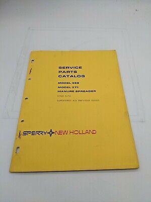 New Holland Service Parts Catalog Model 368 371 Manure Spreader 6-76