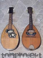 2x Progetto Mandolino Catania + Germania Old 8string Hobbisti Difettoso Parti -  - ebay.it