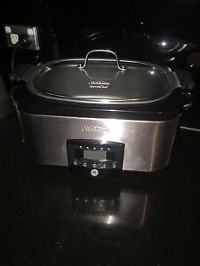 Slow cooker - sunbeam SecretChef HP8555 5.5L Darling Point Eastern Suburbs Preview