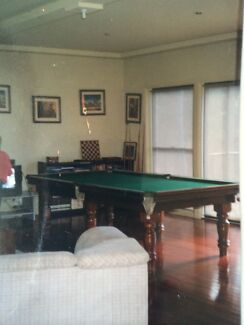 Heron and Smith 3/4 Billiard Table Huntleys Point Hunters Hill Area Preview