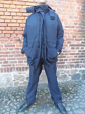 BW Bundeswehr Nässeschutz Jacke +Hose blau Marinepersonal GORE-TEX  Gr.XL 54/56