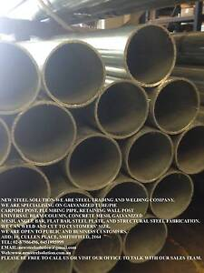 GALVANISE STEEL PIPE 100NB*4MM FOR PLUMBING,ELECTRICITY POST,BUIL Smithfield Parramatta Area Preview