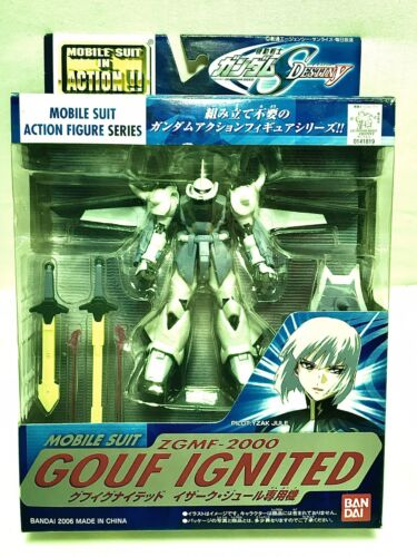 FROM JAPAN Mobile Suit Gundam MS-07B Gouf Action F... EXTENDED MS IN ACTION !