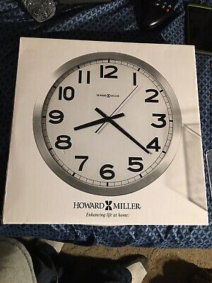 "Howard Miller Round Wall Clock 15-3/4"" 625450"
