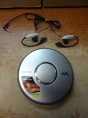 Sony WALKMAN Portable CD Player D-EJ011 Digital Mega Bass G-Protection