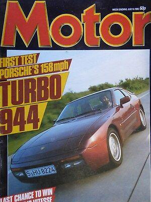 MOTOR 85/07/06 PORSCHE 944 TURBO CITOEN VISA GTi JENSEN INTERCEPTOR