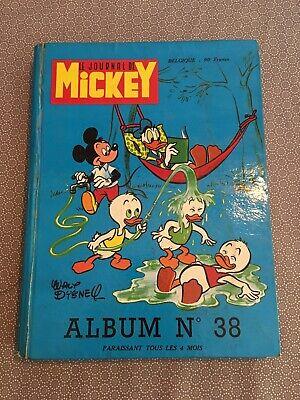 [12296-BD3] Album - Le Journal de Mickey n°38 - Complet - BE