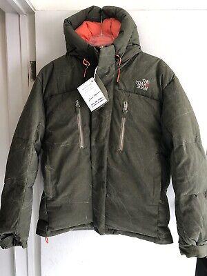 NWT Readymade Khaki Cotton Down Puffer Jacket Size 2 US M